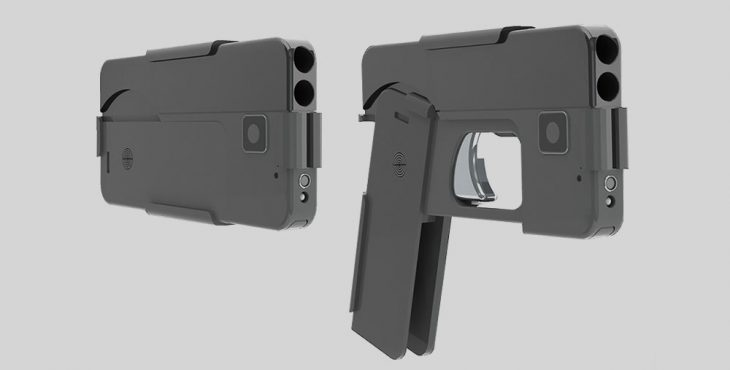 Оружие: 9-миллиметровый пистолет- смартфон