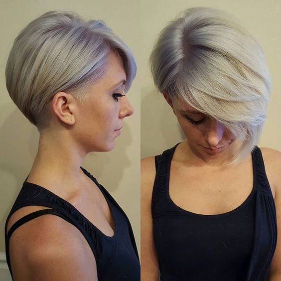 Womens short shaved haircuts