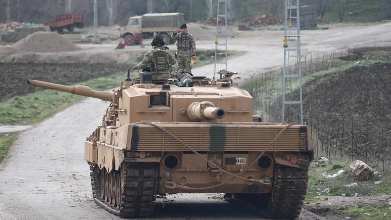 Spiegel: турецкое наступление на курдов грозит вылиться в серьёзный конфликт