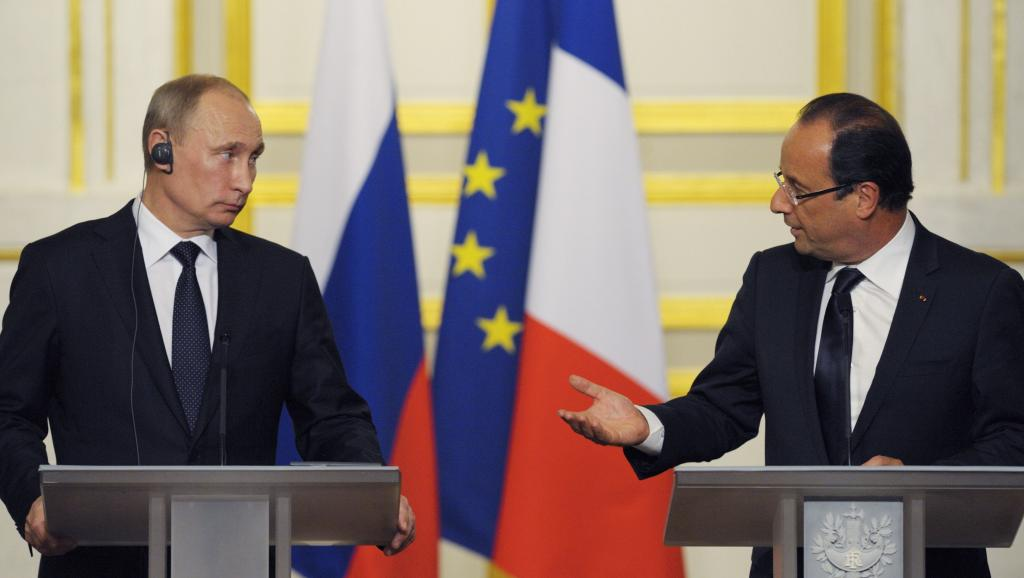 French media: Our Hollande cast his pants and turned pale after a conversation with Putin