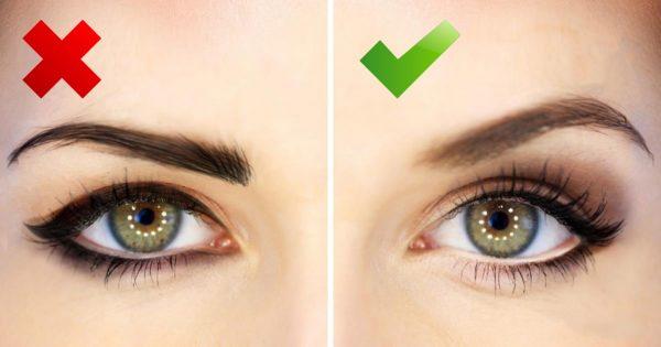 Как с помощью стрелок увеличить глаза пошагово