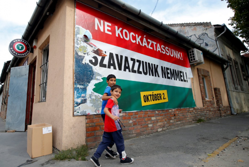 В Венгрии начался референдум по вопросу квот ЕС на мигрантов
