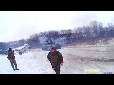 Положили всех.Реальный бой.Дебальцевский котел 15 02 2015 силовики пытались вырваться под Логвиново