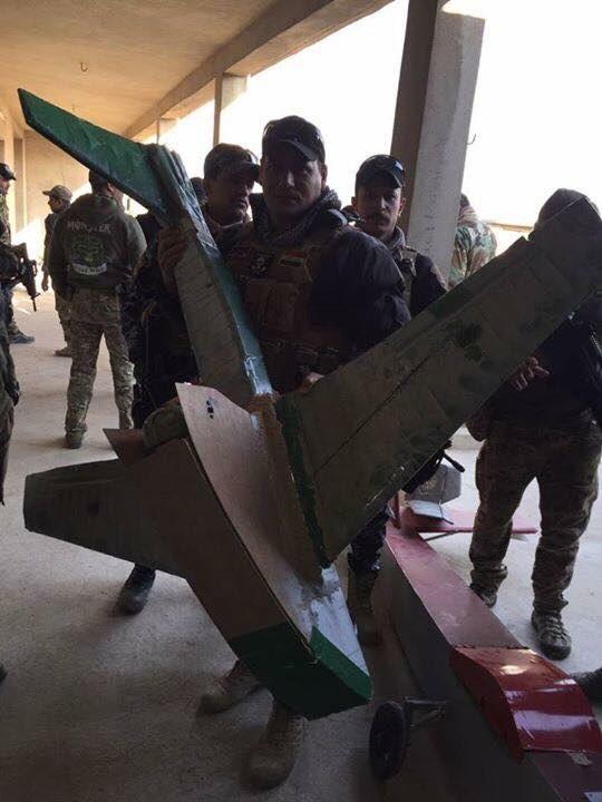 Война с дронами исламистов