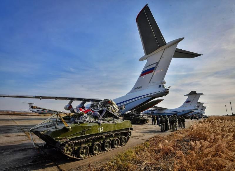 Воздушно-десантные войска проводят масштабное тактическое учение в Приморье