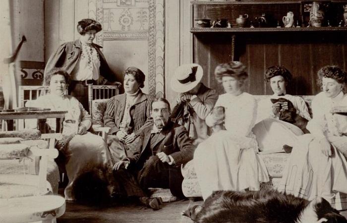 Фотографии из путешествия французского барона по России в 1909 году