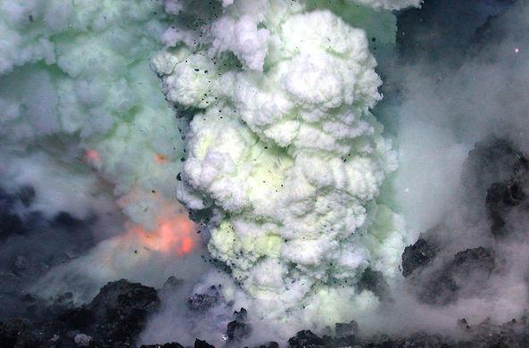 Смертоносный подводный вулкан обнаружили в Японии