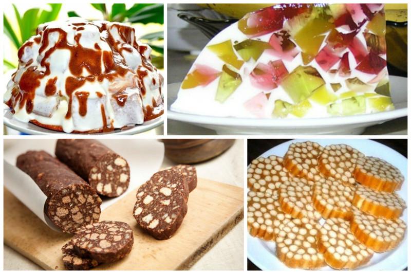 ДЕСЕРТНЫЙ ВИХРЬ. Вкуснейшие сладости без выпечки