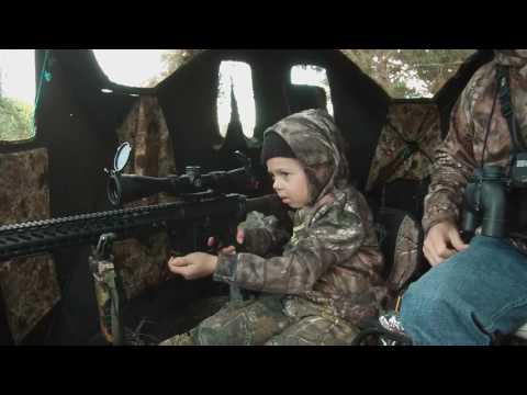7 летняя девочка из Техаса добыла своего первого оленя.