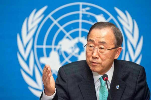 Пан Ги Мун призвал РФ и США к переговорам о сокращении ядерного оружия