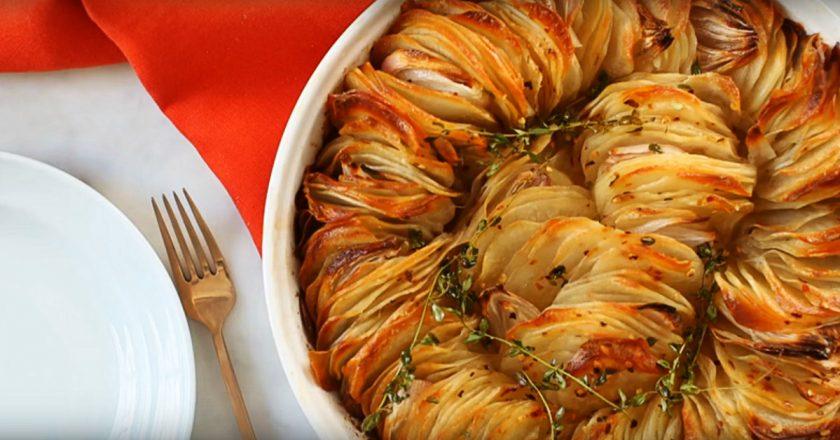 Запеченный картофель в масле
