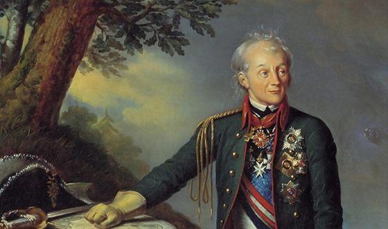 За что Суворов получил орден…