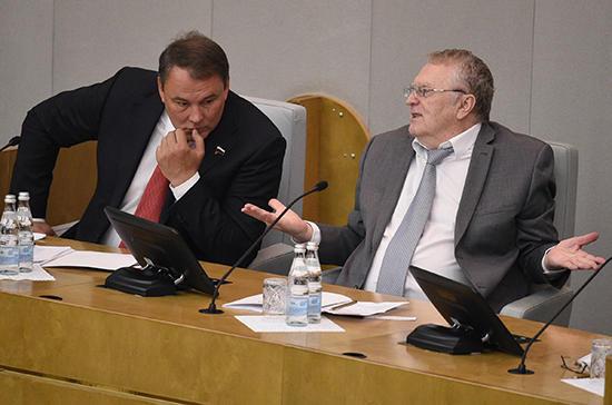 Жириновский «грудью встал» за мужчин: нужен Комитет по защите!