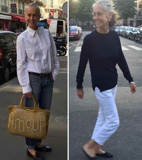 Стильные и простые в исполнении образы на моднице в возрасте