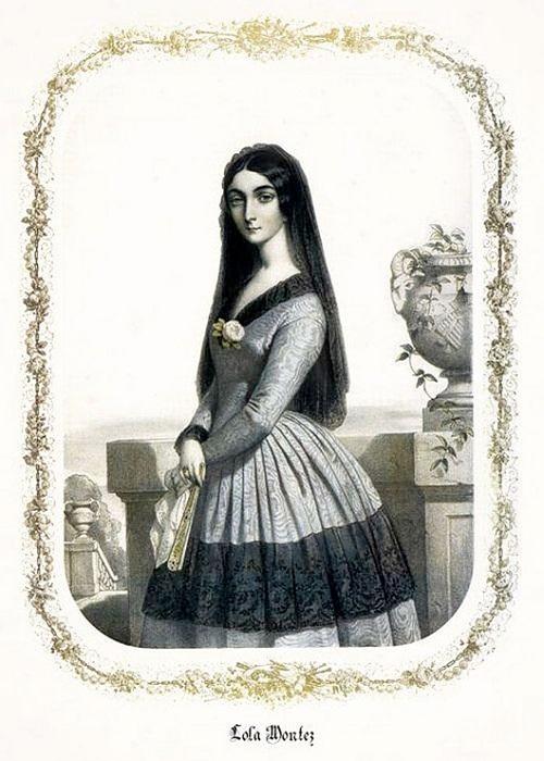 Лола Монтес – танцовщица и авантюристка XIX века, ради которой король отрекся от престола