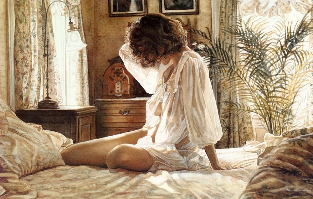 «Эмоции — это то, что я изображаю» —  пронзительной красоты акварели Стива Хенкса