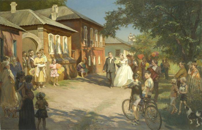На заречной улице. Автор: Молодых Мария Станиславовна.