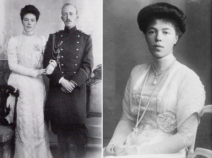 Великая княгиня и ее первый муж принц Ольденбургский | Фото: romanovs-russia.blogspot.com
