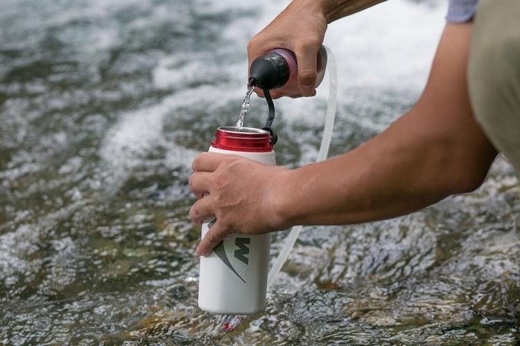 Разработан удивительный водяной фильтр MSR Trailshot
