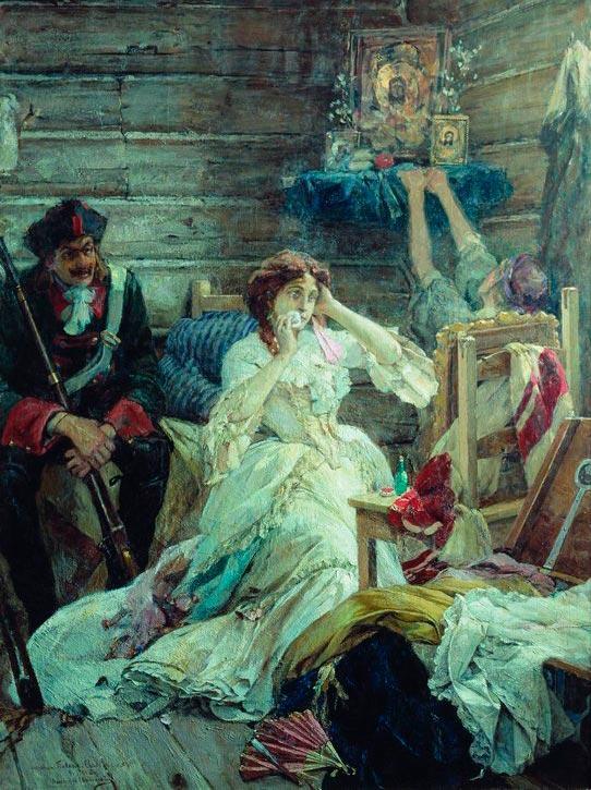 За что Пётр I собственноручно казнил свою любовницу?