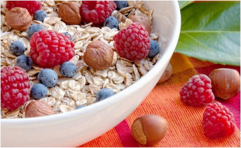 Завтрак, богатый клетчаткой, чтобы кишечник работал правильно!