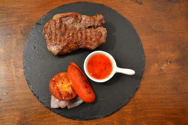 Простой острый соус к мясу