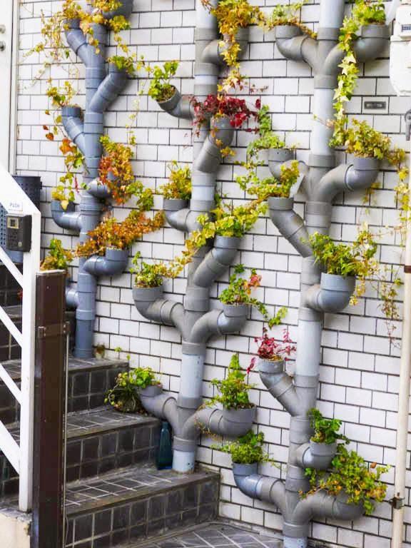 Дачные идеи из пластиковых труб