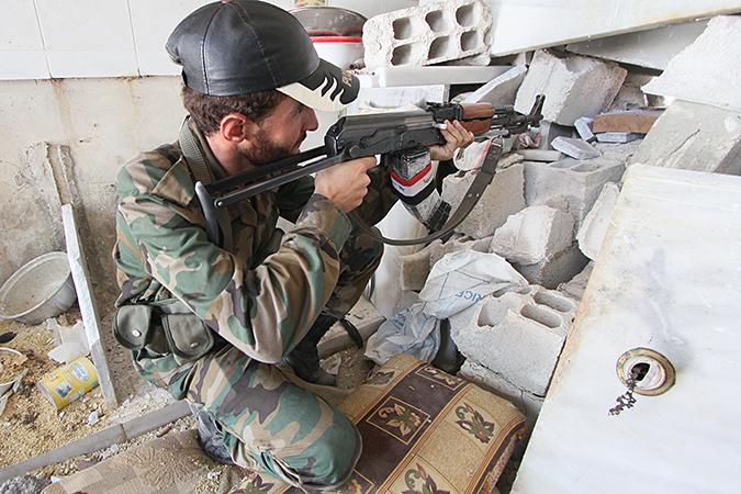 Сирийские войска вернули под контроль промзону на востоке Дамаска