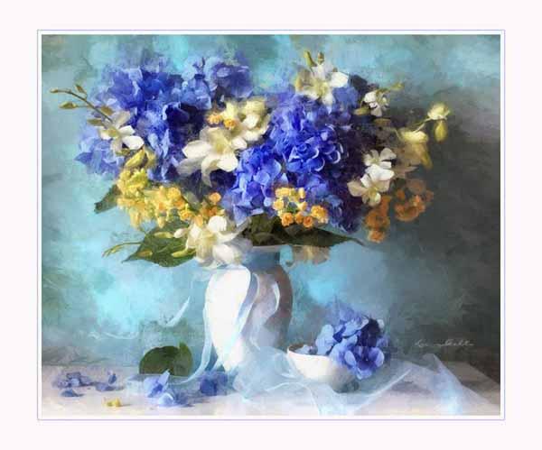 Магия цветов в романтических натюрмортах Луизы Гельтс(Luiza Gelts)
