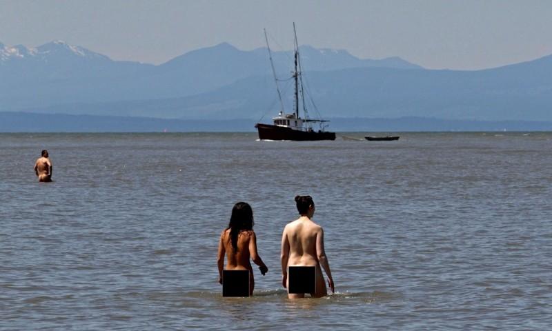 10. Wreck Beach – Ванкувер, Канада вокруг света, нудисты, пляж