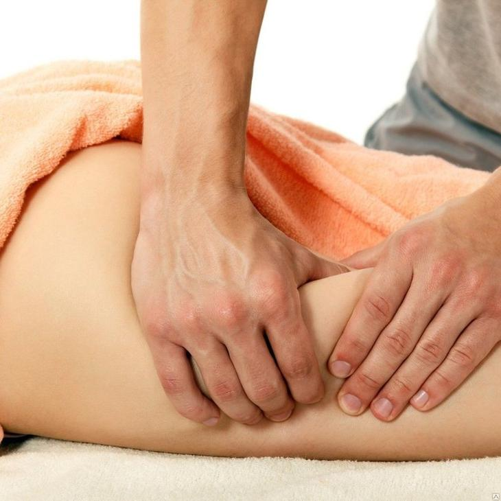 Антицеллюлитный массаж ног