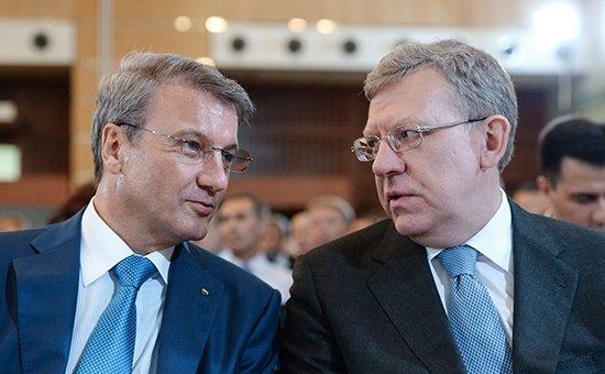 Приватизация Кудрина и Грефа...