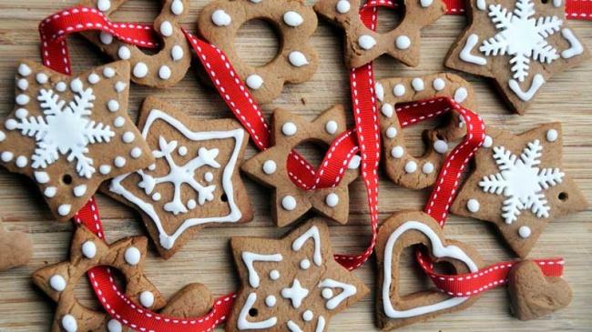 Как сделать новогодние печенье рецепт 197