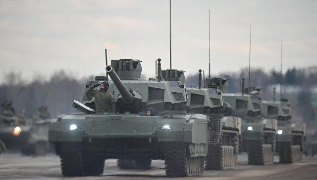 Американский генерал: США нужны танки, как у России