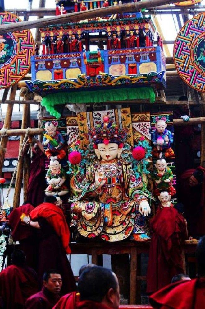 Скульптуры из масла Удивительное искусство тибетских монахов