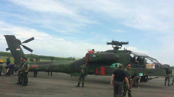Индонезия получила первые американские боевые вертолеты АН-64Е Apache Guardian