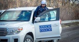 ОБСЕ эвакуируется из Луганска