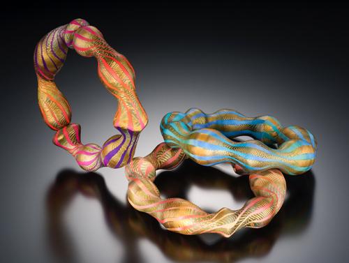 Оригинальные браслеты из полимерной глины от Элизы Винтерс