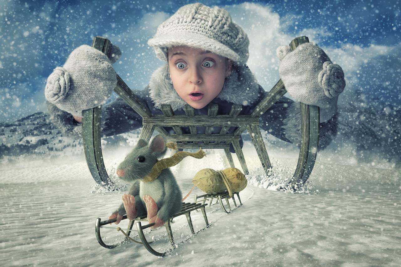 Фантастические фотографии детей от креативного папы