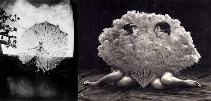 «Девушки Зигфильда» от Чейни Джонстона. Фотографии 1920 года в стиле ню