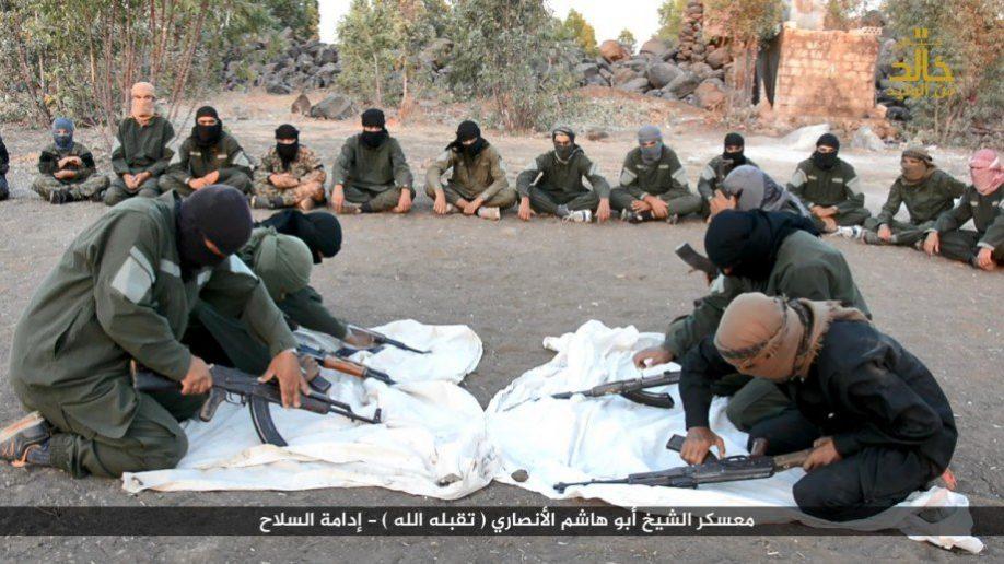 Вблизи границы с Израилем ИГИЛ создал тренировочный лагерь