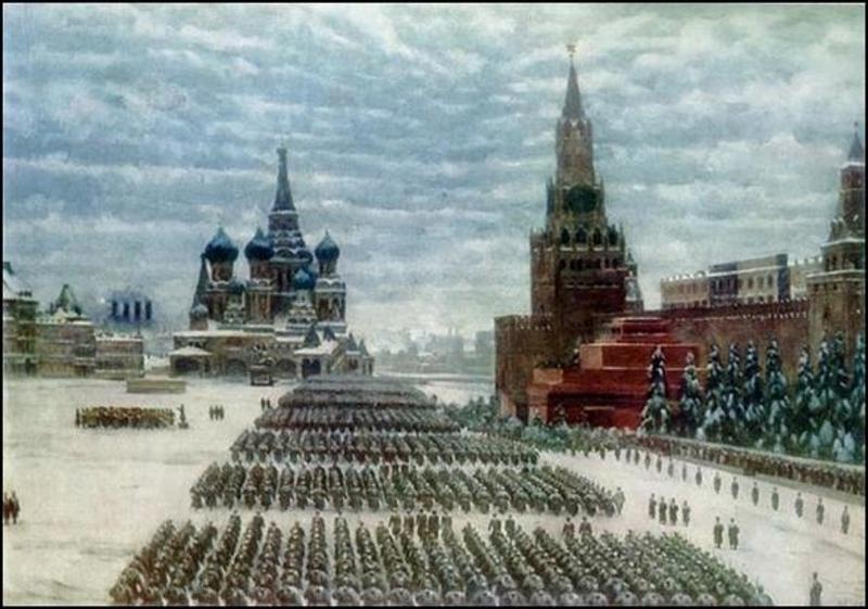 Парад 7-го Ноября 1941 года