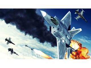 F-22 ВВС США открыли огонь в…