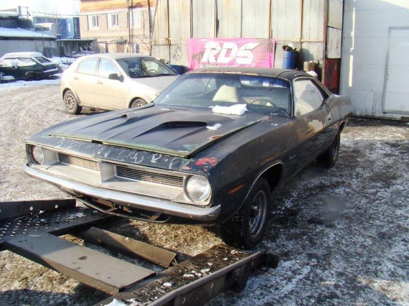 Было и стало: Восстановление Plymouth Barracuda 1970 года