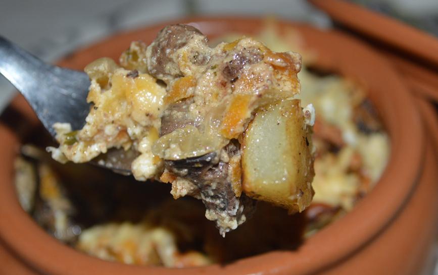 Картошка с куриной печенью в духовке: рецепт, советы и рекомендации