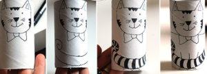 Игрушки из рулонов от туалетной бумаги (23)