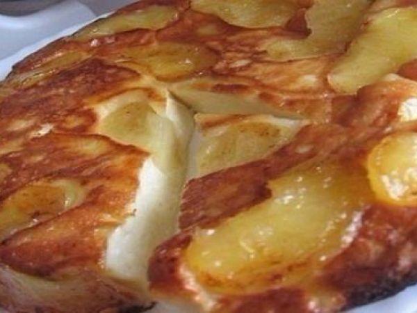 Яблочно-творожный пирог, который тает во рту.