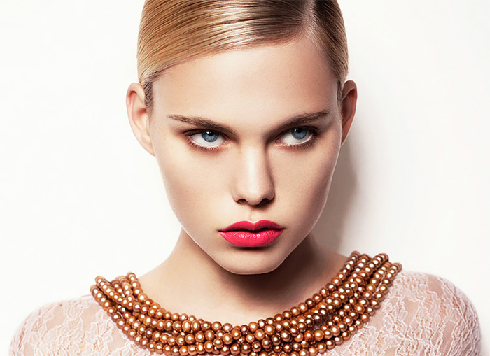Творческий  макияж Кристиан Шильд