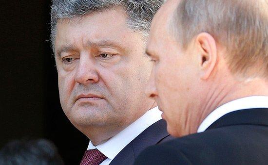 А давайте попробуем сравнить Путина с Порошенко...