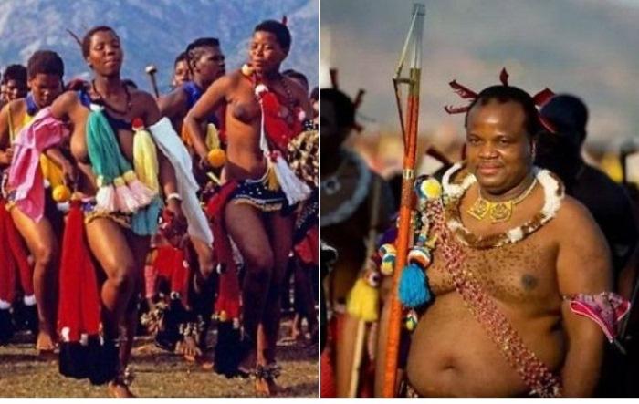 Праздник тростника и парад девственниц в Свазиленде